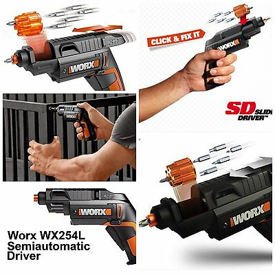 Worx Screwdriver Sd Semi Automatic  Wx254