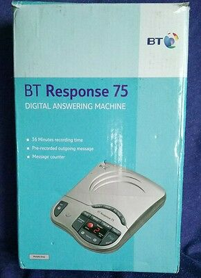 BT Response 75 Digital Answering Machine. New and Boxed.
