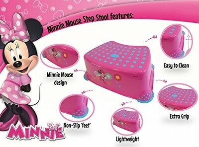 Disney Baby Minnie Step Stool with Non Slip Feet