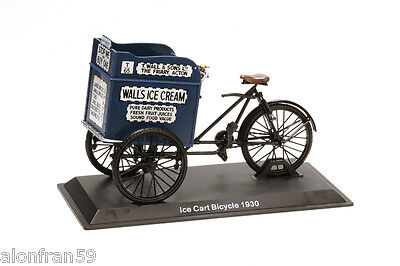 Collection Bicycle 1:15 scale Ice Cart Bicycle 1930 Diecast BIC016