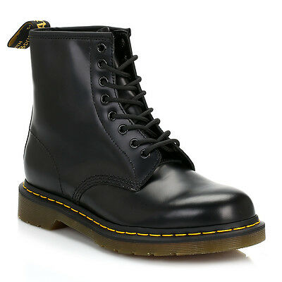 Dr. Martens 1460 Mens Womens Black Leather Ankle Boots Shoes Waterproof Docs