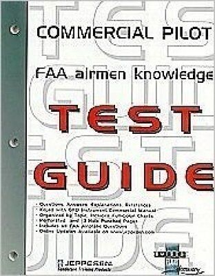 Commercial Pilot FAA Airmen Knowledge Test Guide by Jeppesen