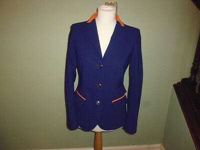Cavalleria Toscana Ladies Technical Competition Show Jacket navy blue I 44 UK 12