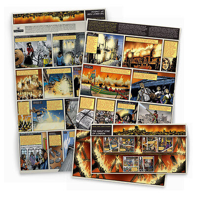 2016 GB The Great Fire of London Presentation Pack