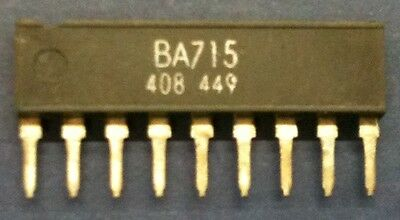BA715 Dual Operational Amplifier SIP9