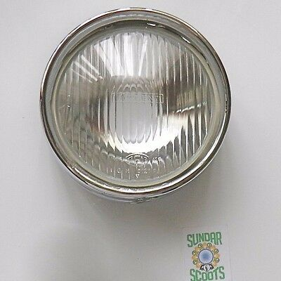 Headlight With An Innocenti/cev Marked Lens. Suitable For Lambretta Li Series 3