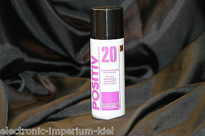 POSITIVE 20 Contact Chemistry,200 ml,Photoresist,positive for Photo-Paint,