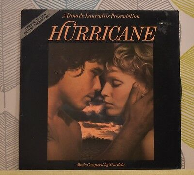 NINO ROTA - Hurricane [Film Soundtrack] [Vinyl LP,1979] USA Import 5E-504 *EXC