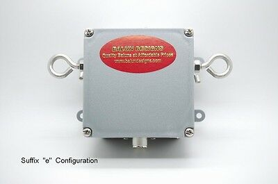 Balun Designs mod. 1113e 1:1 1.5-54Mhz 3Kw - Eyebolts on sides