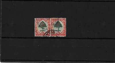 SOUTH AFRICA 6d TYPE I, GOOD USED STILL ON BACKING PAPER, SG61, CAT £50