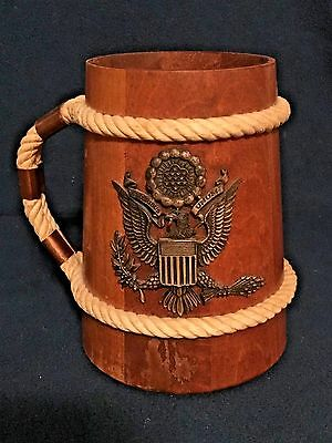 Wooden Beer Mug Stein Collectable with out liner