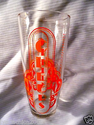 Vintage Glass Cocktail Shaker CHEERS Barware (8 INCHES)