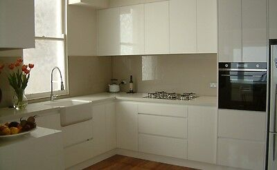 Flat pack kitchen and laundry cabinets