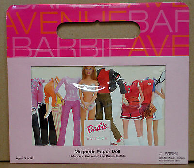 BARBIE™ MAGNETIC PAPER DOLL by Schylling 2002