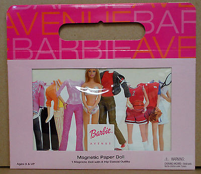 BARBIE™ MAGNETIC PAPER DOLL by Schylling 2002 BRAND NEW