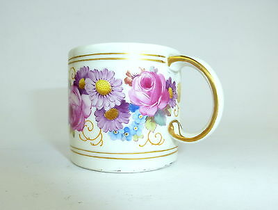 Cup with fine Flower painting KPM Berlin um 1900