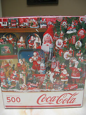 Coca Cola 500 Piece Christmas Puzzle By Springbok 2015 Coke Santa's Nib & Sealed