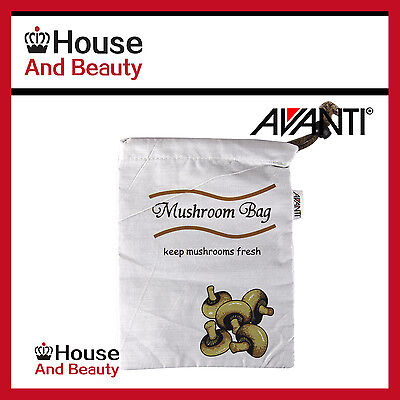 100% Genuine! AVANTI Mushroom Bag 25 x 18cm Keep Mushrooms Fresher for Longer!