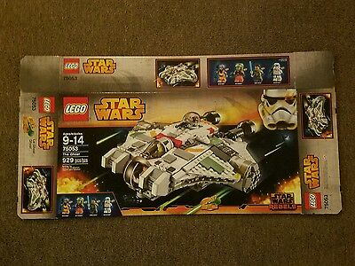 Lego Star Wars The Ghost 75053 Box Only