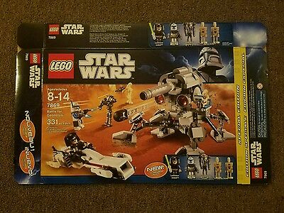 Lego Star Wars Battle for Geonosis 7869 Box Only