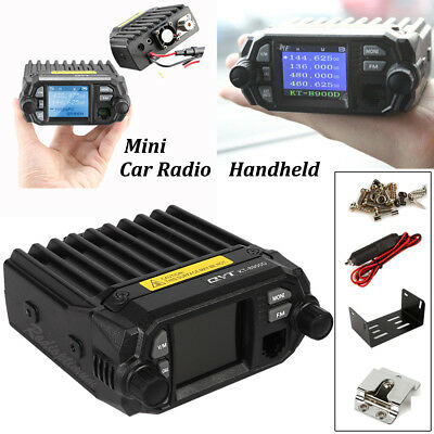 QYT KT-8900D Dual Band Quad Standby 136-174/400-480 Car Mobile Transceiver 25W
