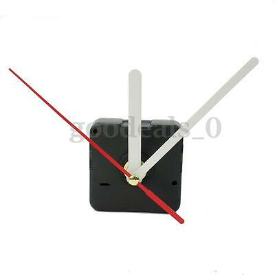 DIY White Hands Silent Wall Quartz Clock Movement Mechanism Repair Tool Kit Gift