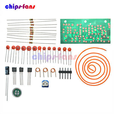 New DC 1.5V-9V FM Wireless Microphone DIY Electronic Learning Kits 80MHz-108MHz