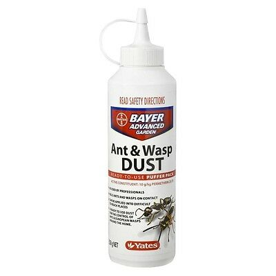 Yates Bayer Advanced Garden ANT & WASP DUST Ready To Use 350G