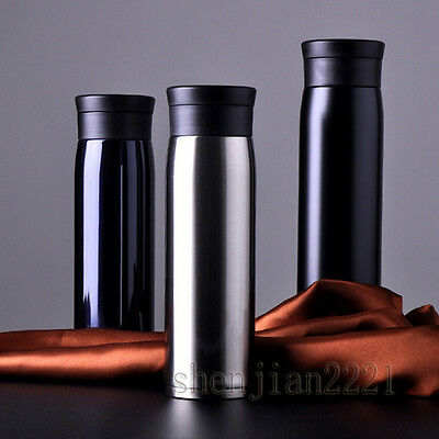 600ML Vacuum Flask Insulated Thermos Cup Stainless Steel Coffee tea Travel Mug