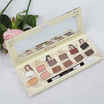 The Balm Nude'tude Eyeshadow 12 Farben Palette Lidschatten Collection Cosmetic