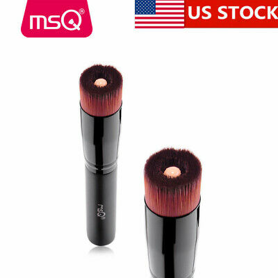 US Delivery MSQ PRO Foundation Makeup Brush Liquid Cosmetic Tool Synthetic Black