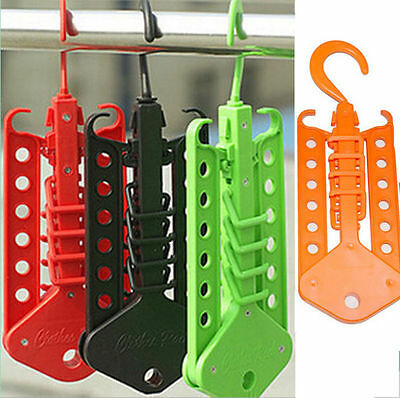 NEW Multi-function Magic Hangers NI Clothes Rack US Home Organization Foldable