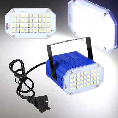 36pcs 20W 5050 LED Mini Stage Light DJ Strobe Flash Club Party Disco Bar KTV New