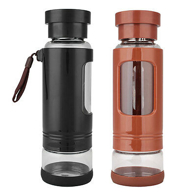 Outdoor Multi Function Double Deck Safety Bottle Camping Hiking Cycling