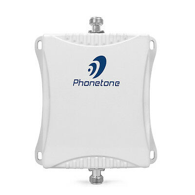 Dual Band 70db Signal Repeater 850/1800mhz Amplifier Booster 3G/4G LTE Extender