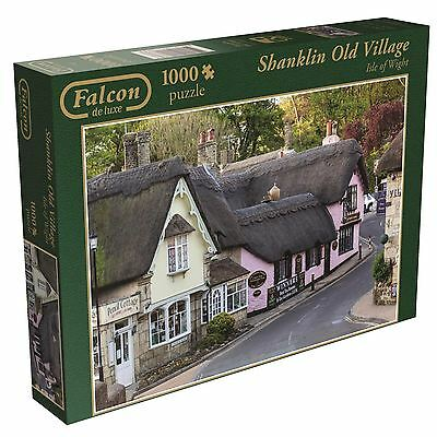 Shanklin Jigsaw Puzzle 1000pc Isle of Wight Scenery Village Games