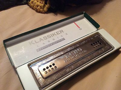 The Echo Harp Hohner Harmonica
