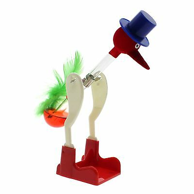 The Lucky Drinking Bird Retro Science Toy Perpetual Motion Table Decor Kids Gift