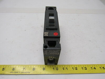 GE Fanuc TED113030 Molded Case Circuit Breaker 30A 1 Pole 277/480V