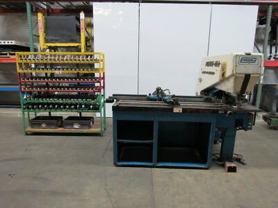 PIERCE-ALL 3030A 7254  7.5HP Perf-O-Mator Single Station Punch Press W/Extras