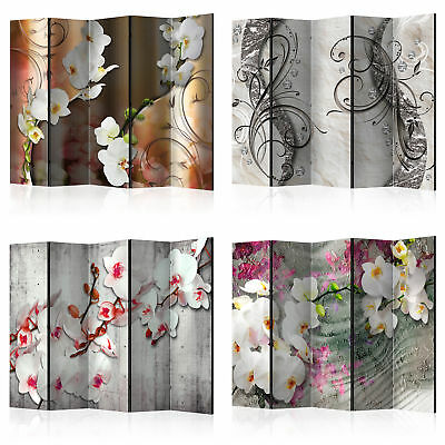 Decorative Photo Folding Screen Wall Room Divider Flower 2 Sizes!