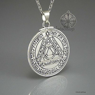 Pentacle Seal of The SUN Talisman Amulet of King Solomon, Pendant w/chain