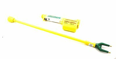 Magrath Electric Shocker Prod Wand Set Cattle Swine With 34 Inch Shaft