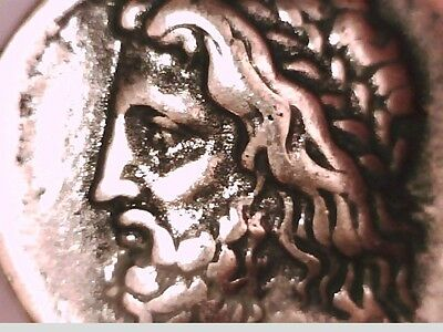2Rooks Greek Greece Elis Olympia Stater Silver Plate Zeus / Thunder Olympic Coin