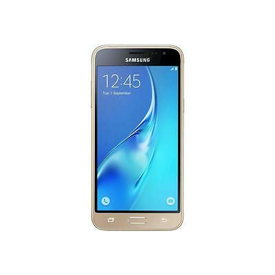 Samsung Galaxy J3 (2016) Gold, Smartphone, Android, 8 GB, 5""