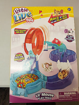 Little Live Pets Lil' Mouse Play Trail Brand New