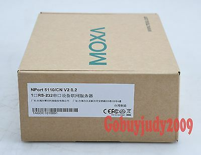 New In Box MOXA Device Server NPort 5110 NPort5110 One year warranty