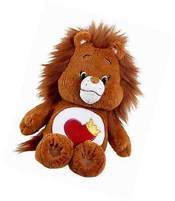 Vivid Imaginations Care Bears Cousins Brave Heart Lion Plush Toy with DVD (Mediu