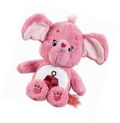Vivid Imaginations Care Bears Cousins Lotsa Heart Elephant Plush Toy with DVD (M