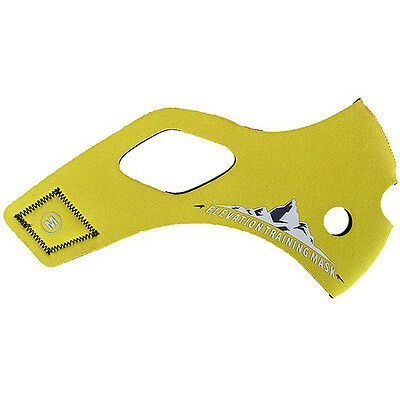 Elevation Training Mask 2.0 Solid Yellow Sleeve Only - Large